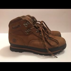 Timberland Hiking Boots Leather Upper Suede